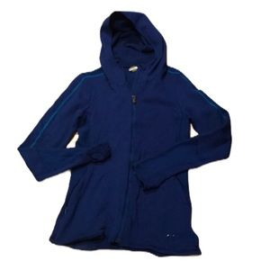 Under Armour zip up blue size S
